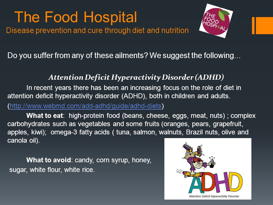 The Food Hospital Disease prevention and cure through diet and nutrition Do you suffer from any of these ailments.