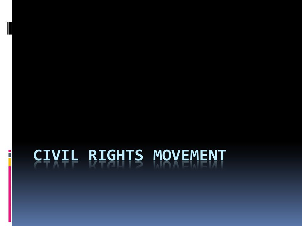 The Civil Rights Movement Begins d.1956, the national headquarters of the NAACP asked the U.S.