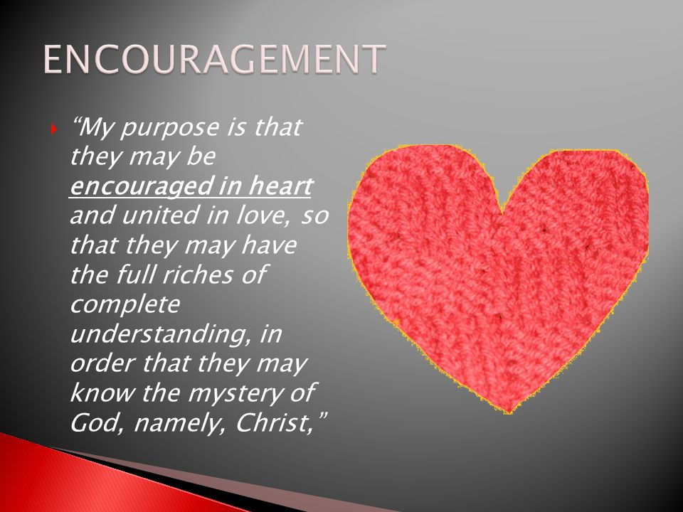  THE WORD ENCOURAGEMENT MEANS CALLED ALONGSIDE Charles Durham, Temptation, One Saturday afternoon I watched the telecast of the world's light-weight boxing championship match.