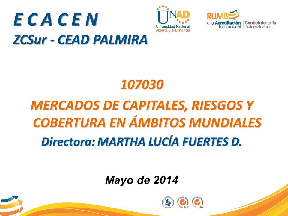 E C A C E N ZCSur - CEAD PALMIRA Mayo de 2014
