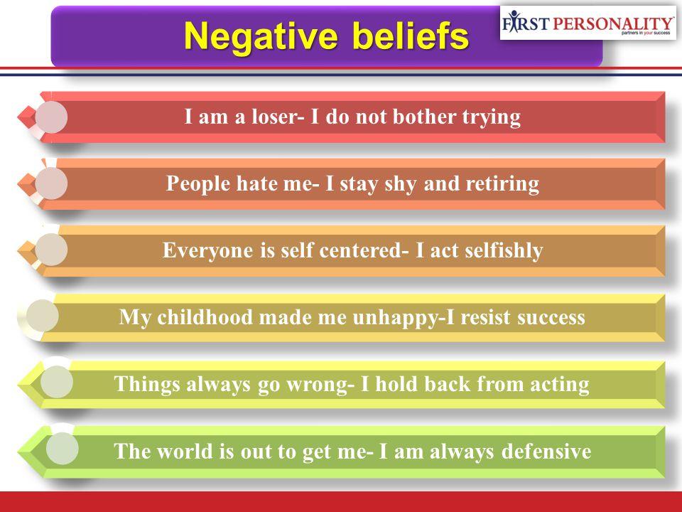 Positive beliefs