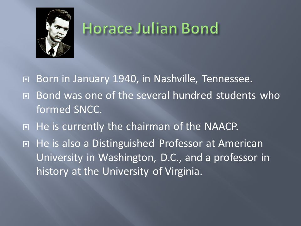  Born in January 1940, in Nashville, Tennessee.