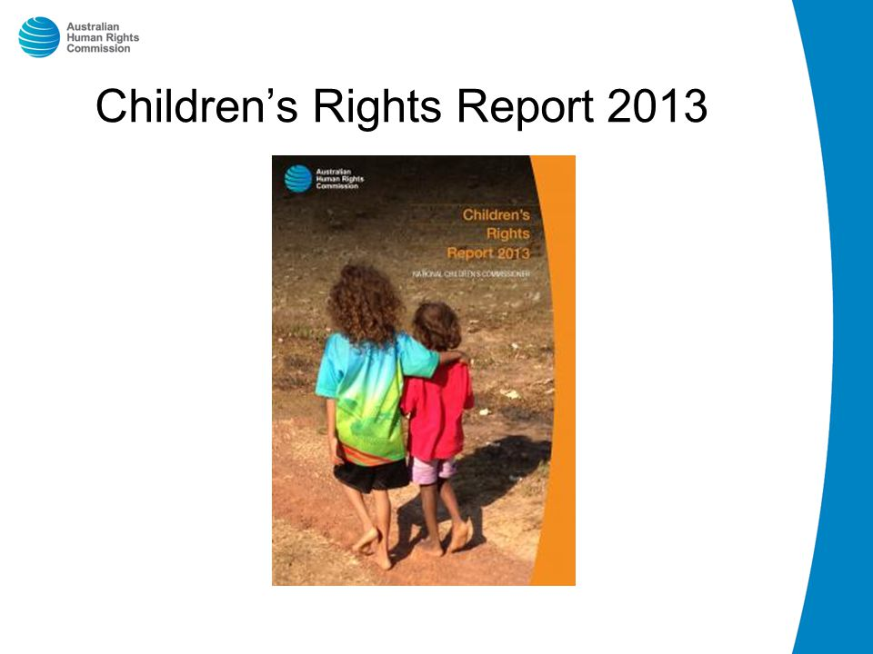 Children's Rights Report 2013