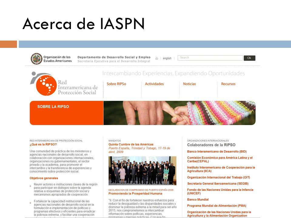 Acerca de IASPN