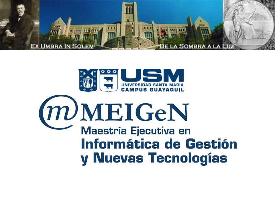 Luis Hevia, Ms Gestión de Proyectos de Informática Luis Hevia, Ms.