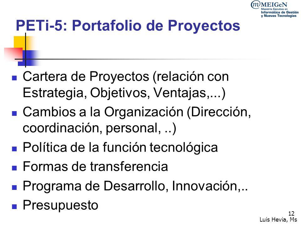Luis Hevia, Ms 13 Plan de Negocios Objetivo: Convencer a los inversionistas de que se tiene la oportunidad de apoyar un proyecto exitoso 5.2 Fundamentos del