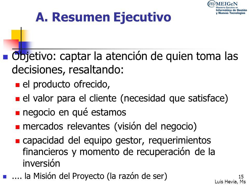 Luis Hevia, Ms 16 B.