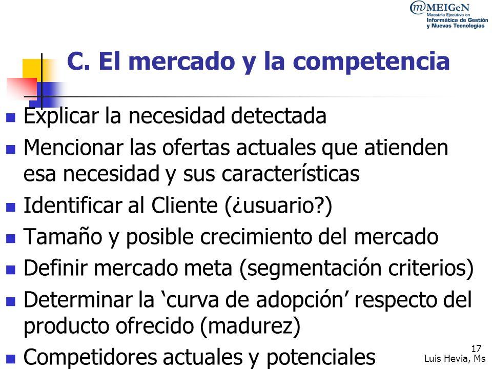 Luis Hevia, Ms 18 D.
