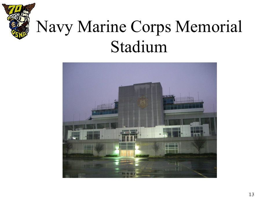13 Navy Marine Corps Memorial Stadium