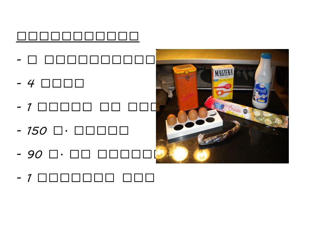 1. Boil the milk with the vanilla pod