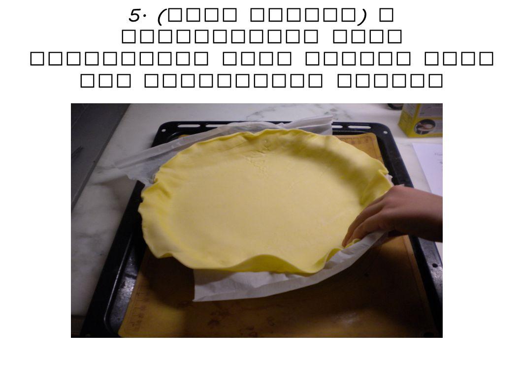 6. Pour the mixture