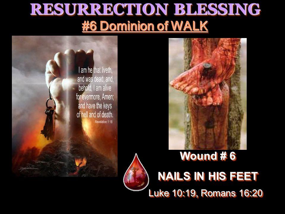 RESURRECTION BLESSING #7 Mending the BROKEN HEART Wound # 7 SPEAR IN HIS SIDE Wound # 7 SPEAR IN HIS SIDE Psalms 147:3 Luke 4:18