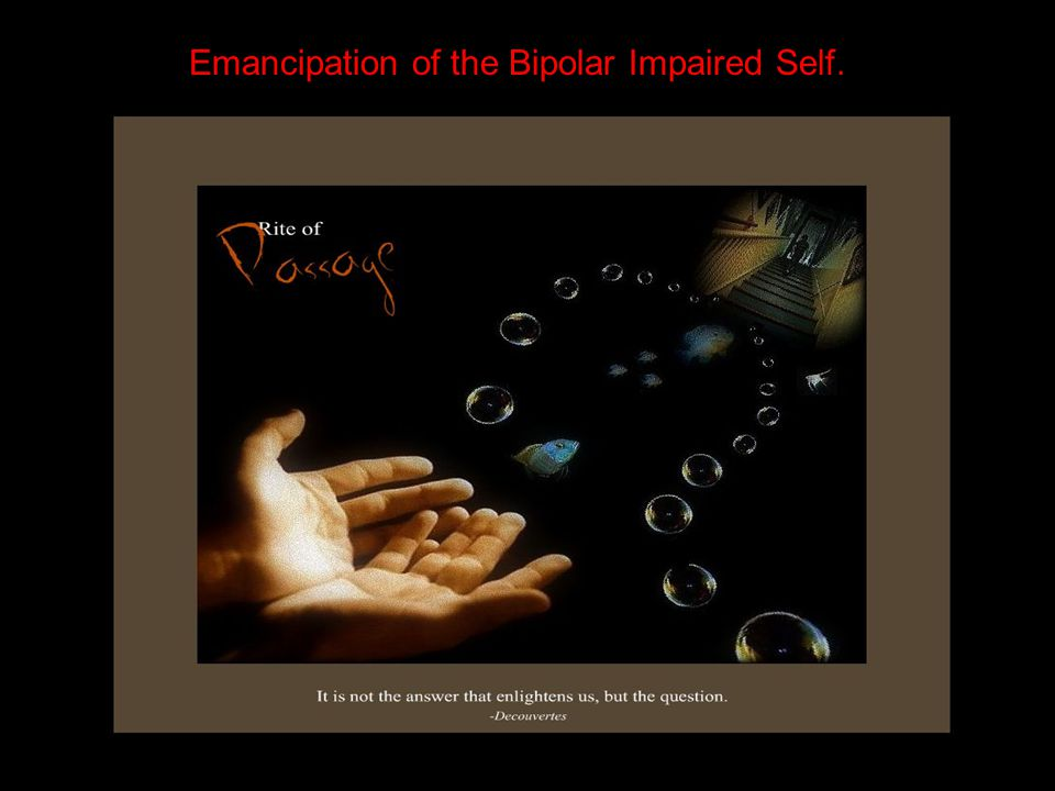 Emancipation of the Bipolar Impaired Self.