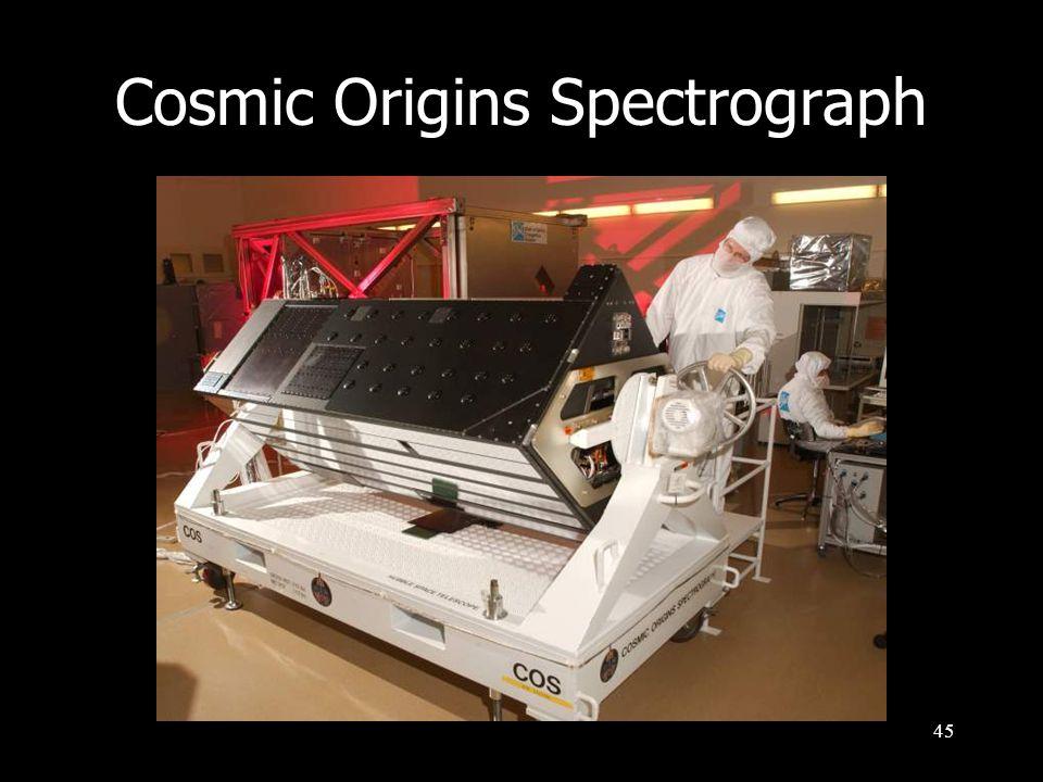 45 Cosmic Origins Spectrograph
