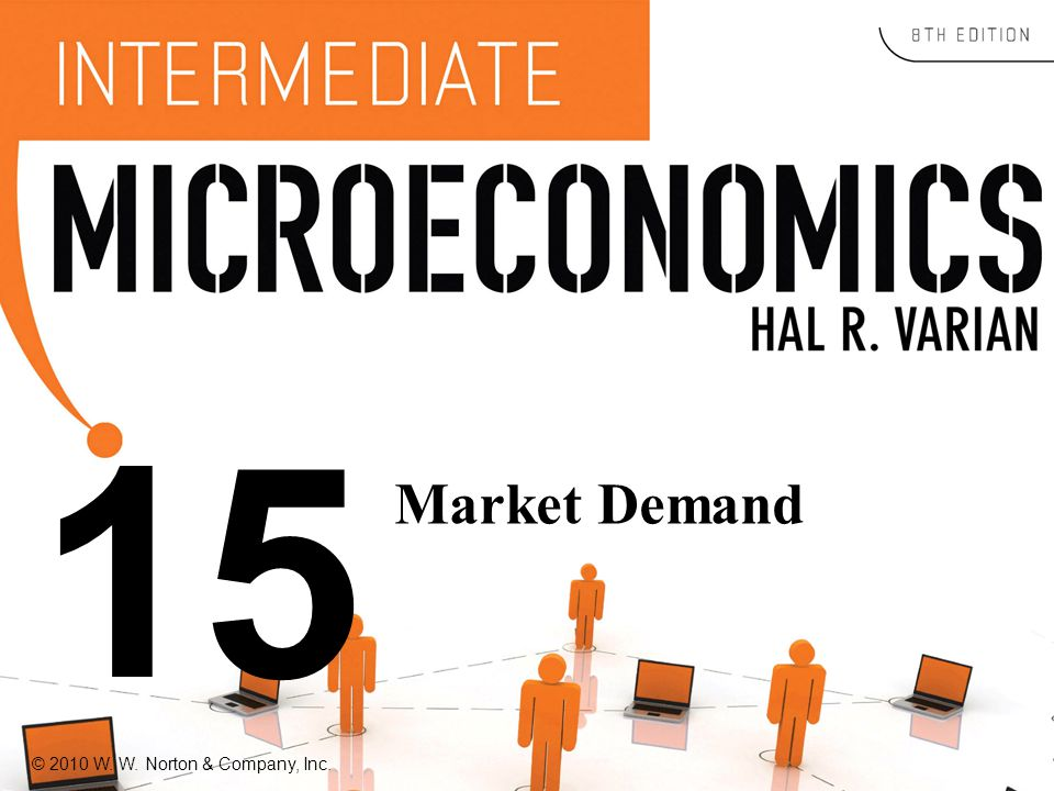 © 2010 W. W. Norton & Company, Inc. 15 Market Demand