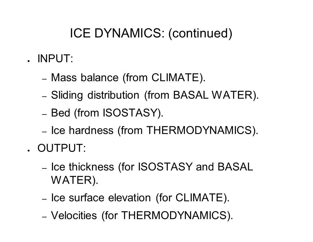 THERMODYNAMICS ● Energy Conservation: – 1-D temperature profiles.
