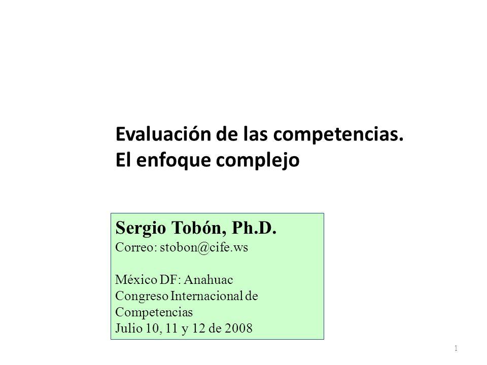 5. ¿Cómo es la metodología de la evaluación de competencias? 12