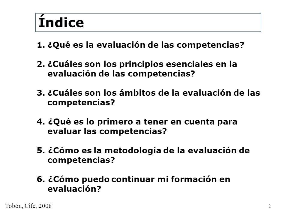 1. ¿Qué es la evaluación de las competencias? 3