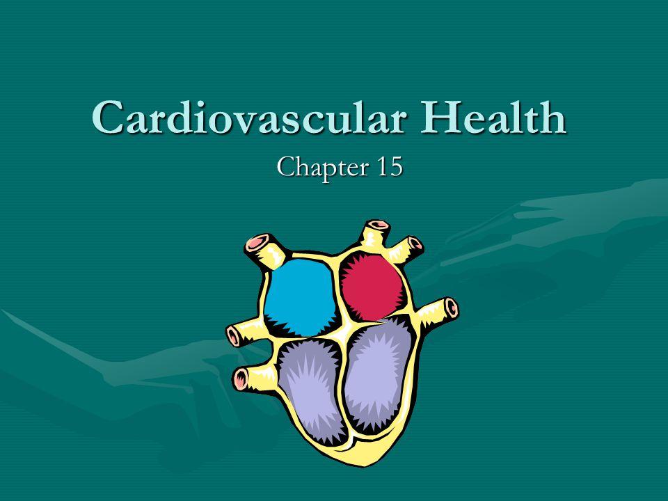 Cardiovascular Health Chapter 15