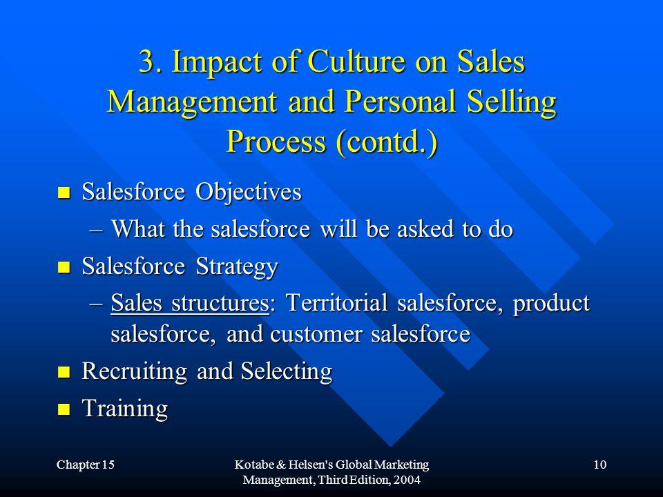 Chapter 15Kotabe & Helsen s Global Marketing Management, Third Edition, 2004 10 3.