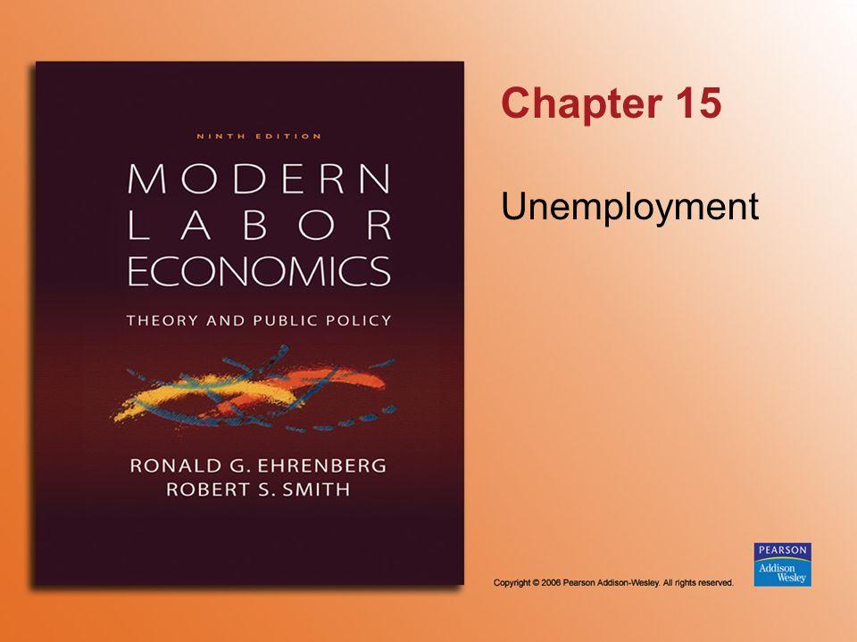 Chapter 15 Unemployment