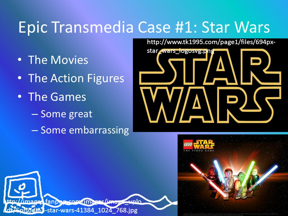 Assignment Amendments...How can your assignment become more of a transmedia world.
