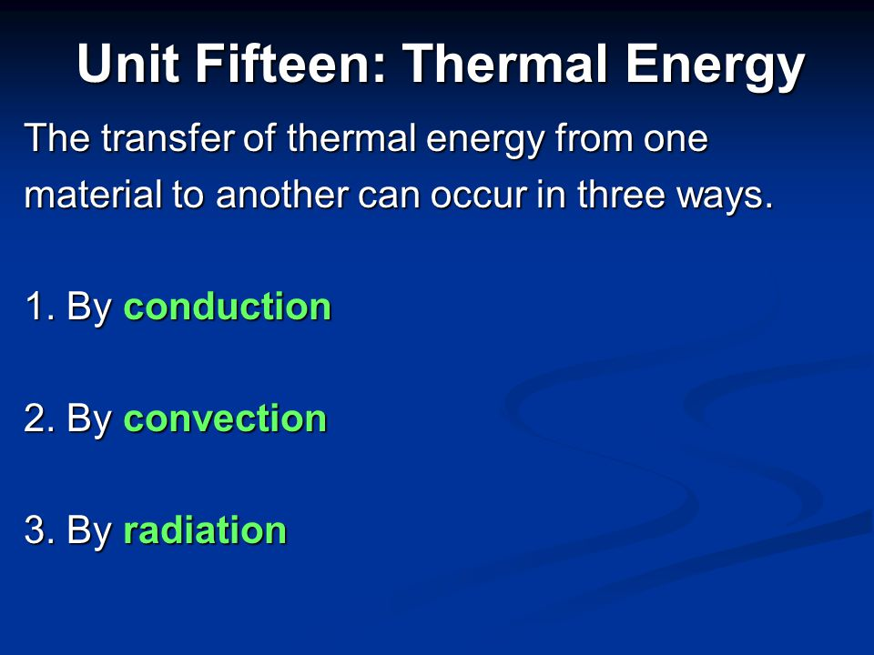 In the previous slide, when water moves from the bottom of the graph to the top of the graph (gets warmer), it gains energy in the form of heat (calories) from the surrounding environment.