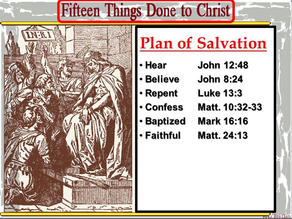 Mark 15:24 26:59-60 His hands/feet Psa.