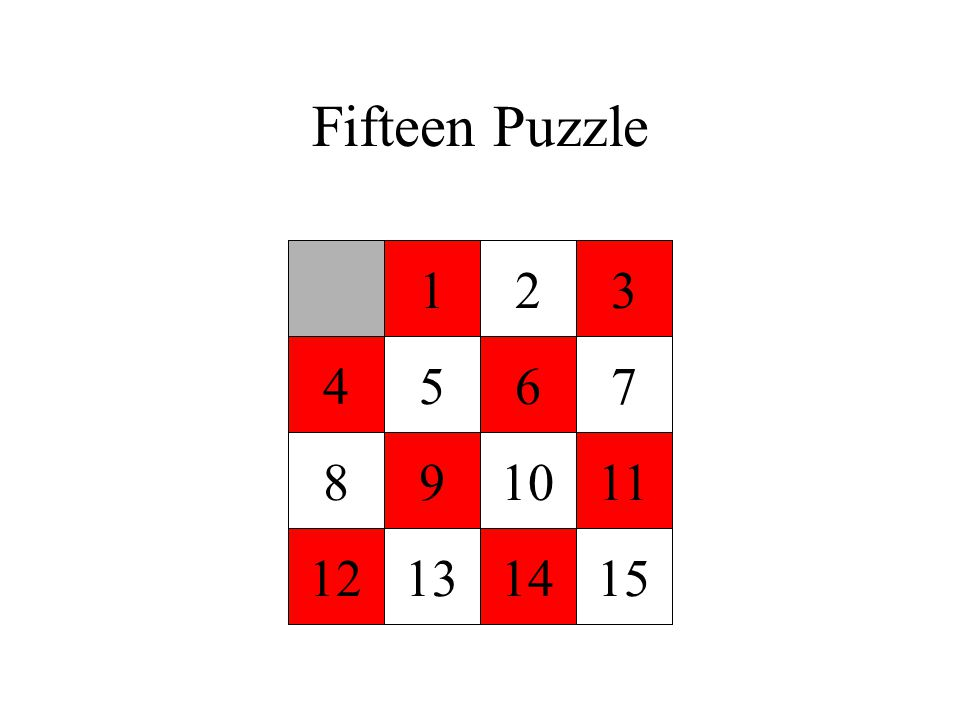 Fifteen Puzzle 123 4567 891011 12131415