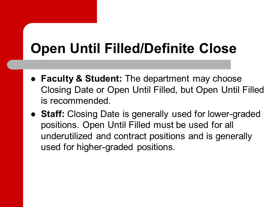 Resources Department Resource Page – Updated Department Originator Guide – InProcess Faculty/Staff/Student Employment Areas 277-HRPR