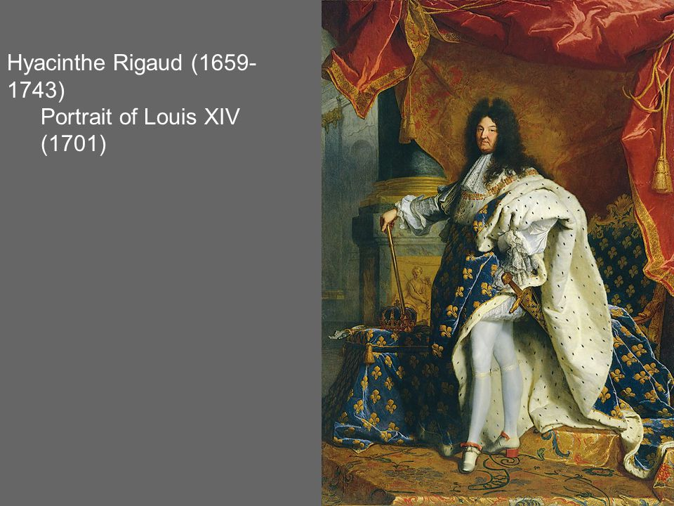 Hyacinthe Rigaud (1659- 1743) Portrait of Louis XIV (1701)