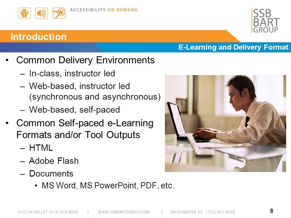 9 The Accessible e-Learning Framework
