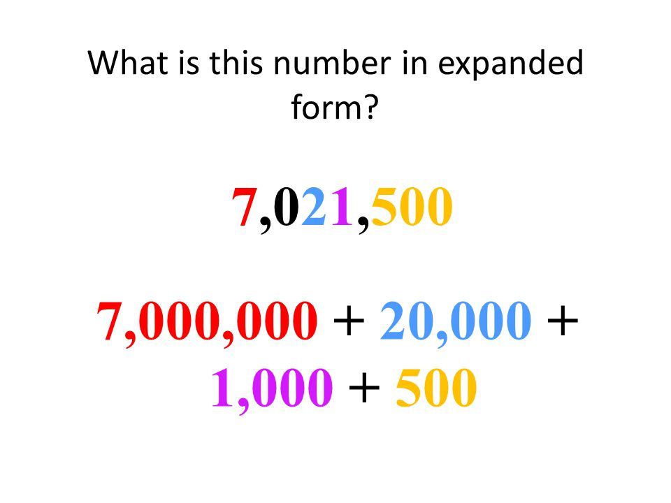 What is the expanded form of 973,104973,104 900,000 + 70,000 + 3,000 + 100 + 4
