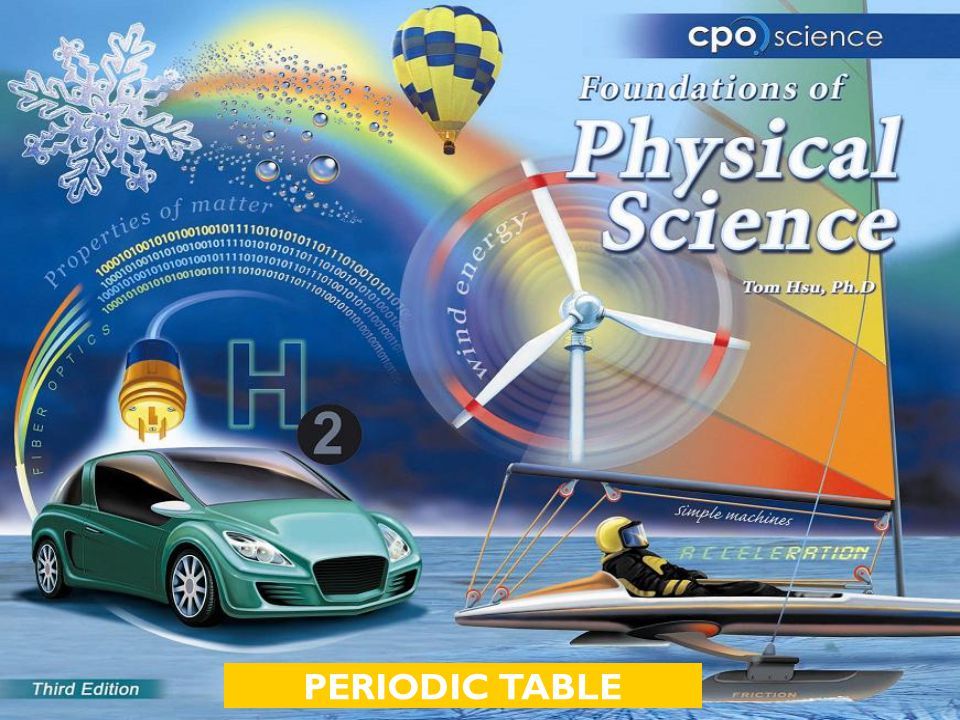 Chapter Fifteen: Elements and the Periodic Table  15.1 The Periodic Table of the Elements  15.2 Properties of the Elements