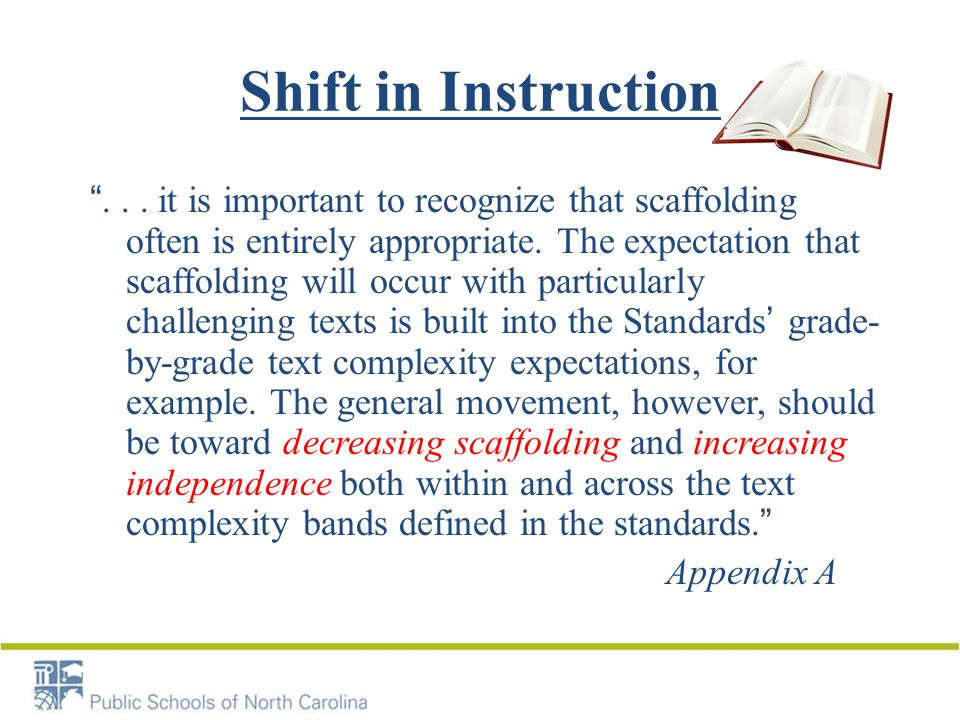 Shift in Instruction ...