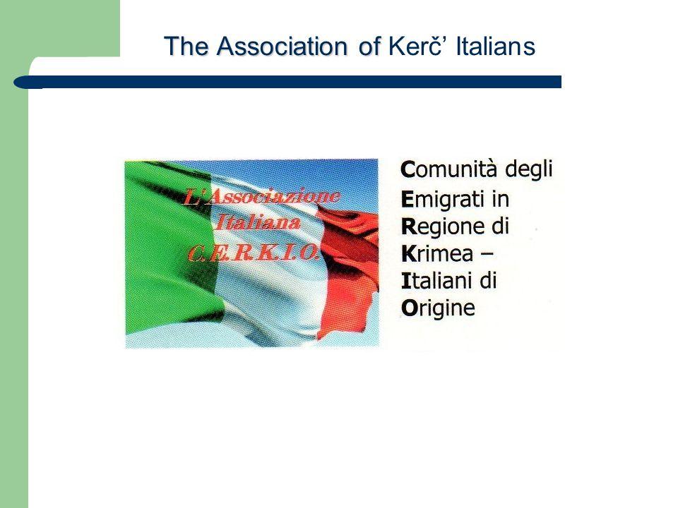 The Association of The Association of Kerč' Italians