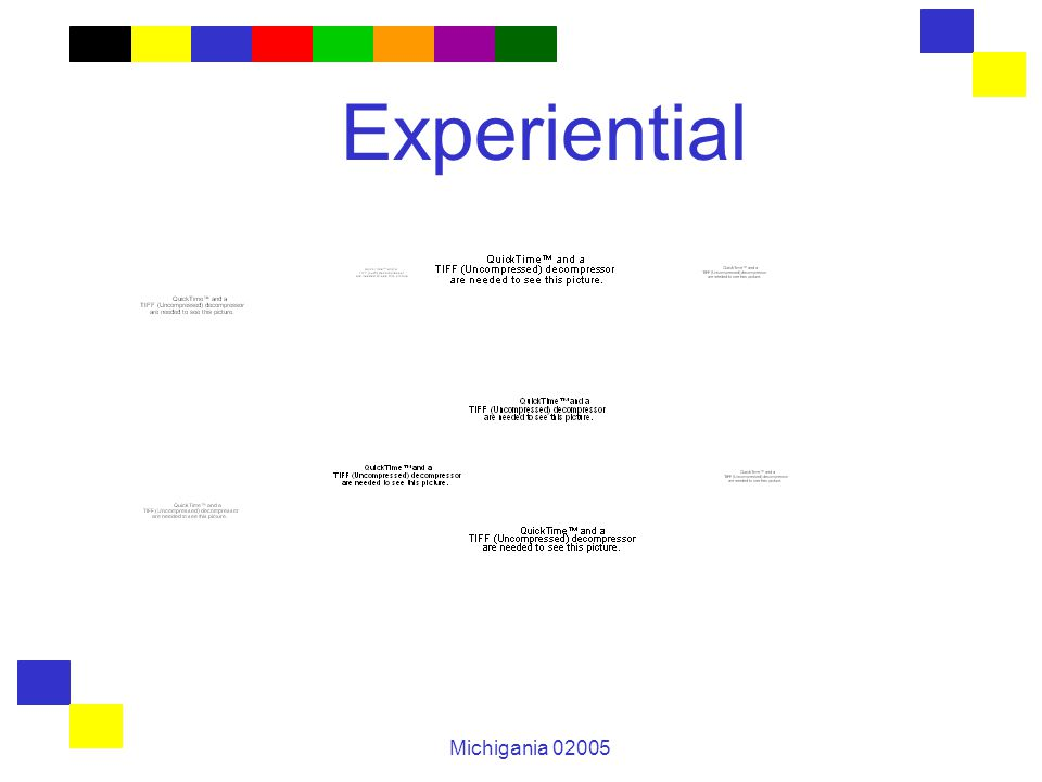 Michigania 02005 Experiential