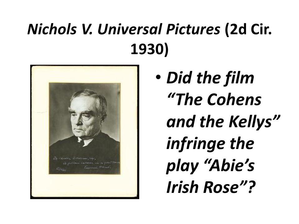 Nichols V. Universal Pictures (2d Cir.