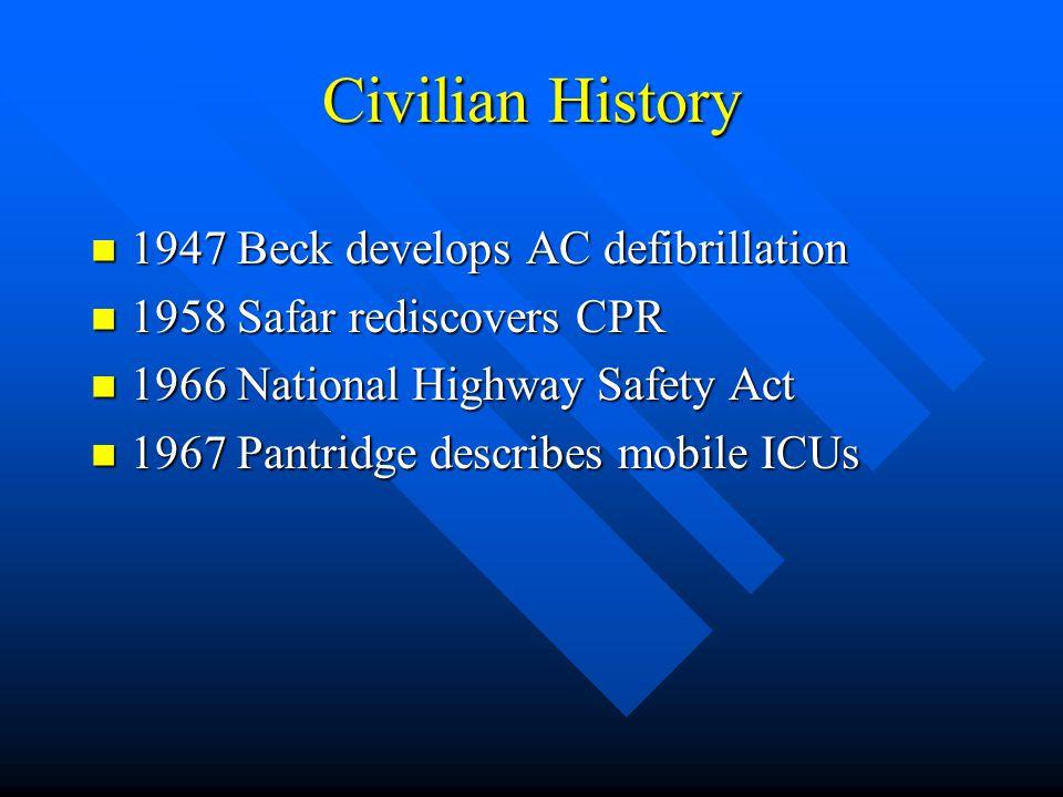 Civilian History