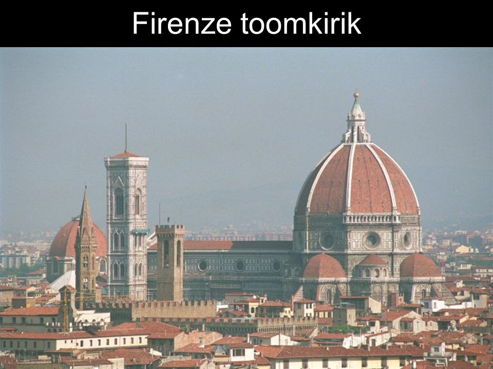 Firenze toomkirik