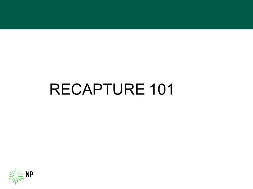 RECAPTURE 101