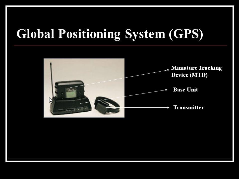 Global Positioning System (GPS) Miniature Tracking Device (MTD) Base Unit Transmitter