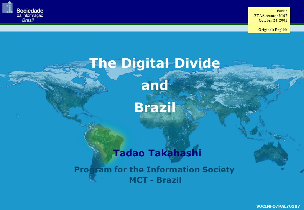  Internet as a Measure of the Digital Divide (cont.)