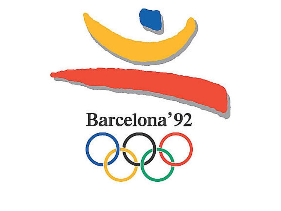 La antorcha olímpica  La antorcha olímpica de estos Juegos Olímpicos fue diseñada por el catalán André Ricard.