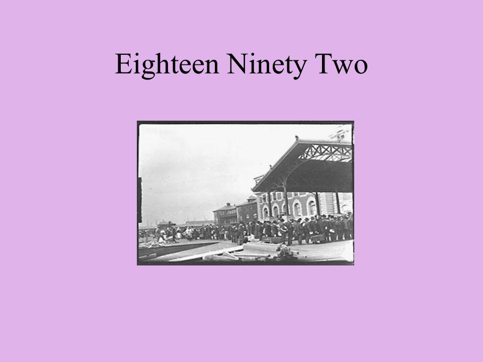 Eighteen Ninety Two