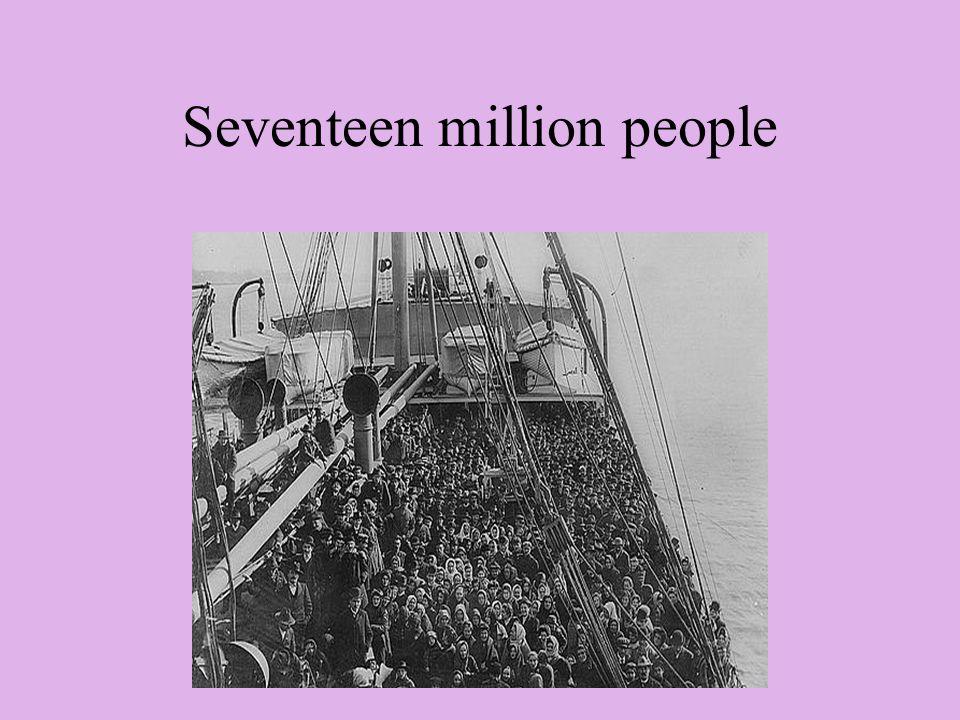 Seventeen million people