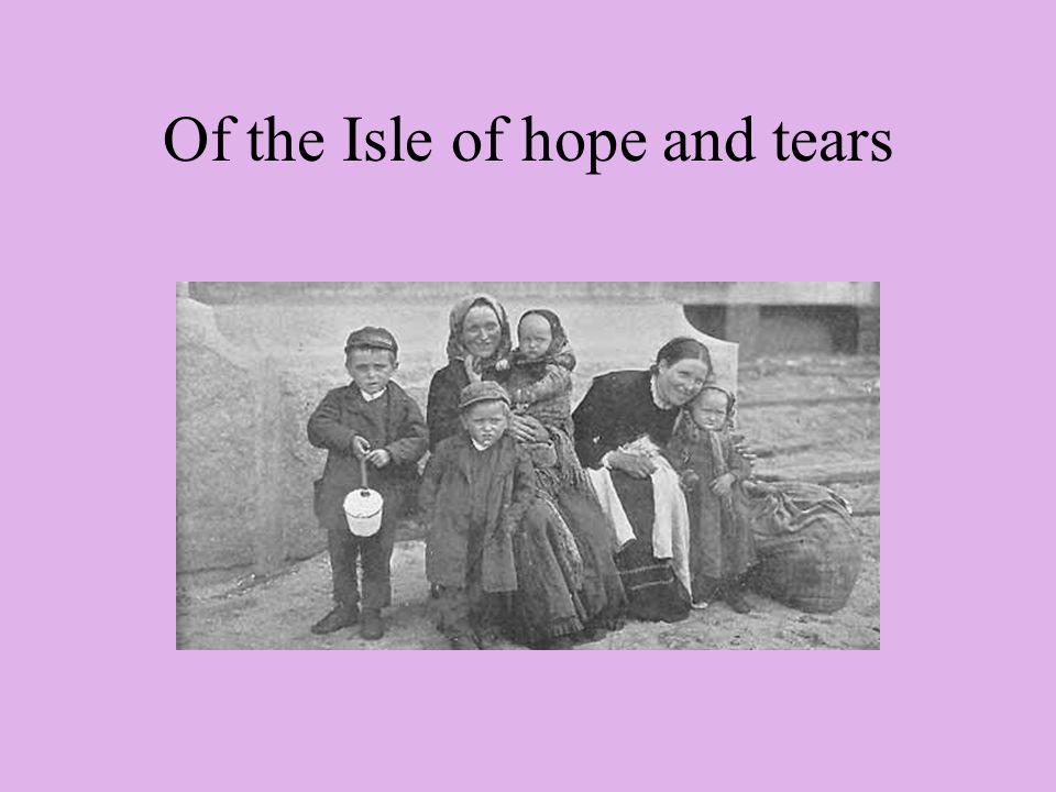Isle of freedom, Isle of fears