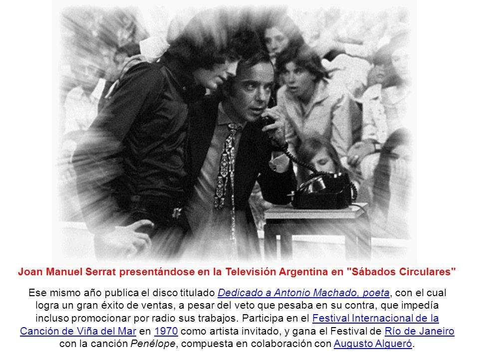 Un lustro de oro: 1969-74 En 1969 nace su primer hijo, Queco, y realiza su primera gira por América Latina, algo que se transformó en una costumbre de ahí en adelante.