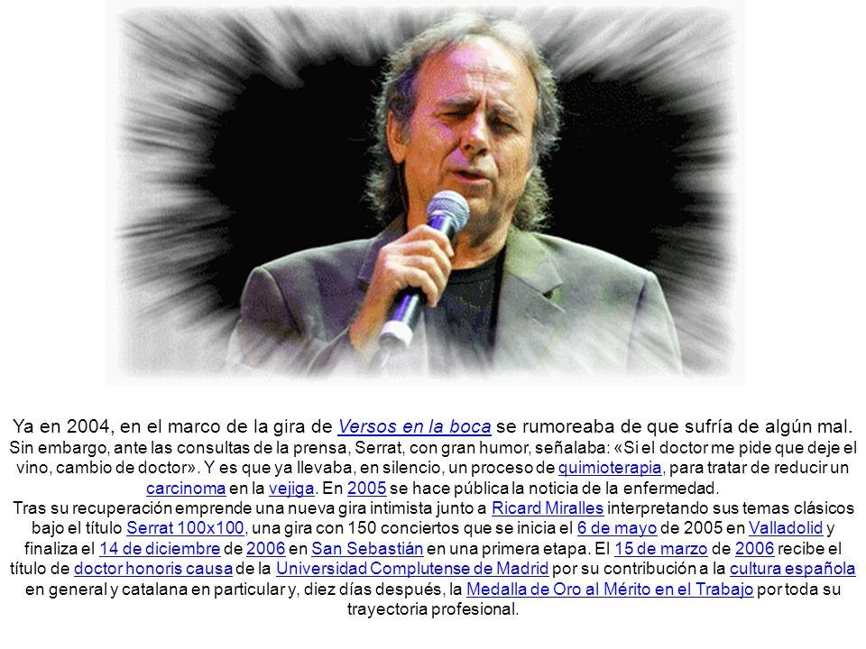 En 2004, participa en el proyecto Neruda en el corazón, con un disco colectivo en el que interpreta el Poema XX de Pablo Neruda, con música de Ramón Ayala el Mensú , el espectáculo se presentó en directo en concierto único el 5 de julio de 2004 en el Palau Sant Jordi de Barcelona, dentro de la programación del Fórum Universal de las Culturas 2004 de Barcelona.