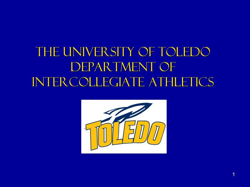 1 the university of toledo department of intercollegiate athletics